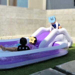 我が家のプール開き☆
