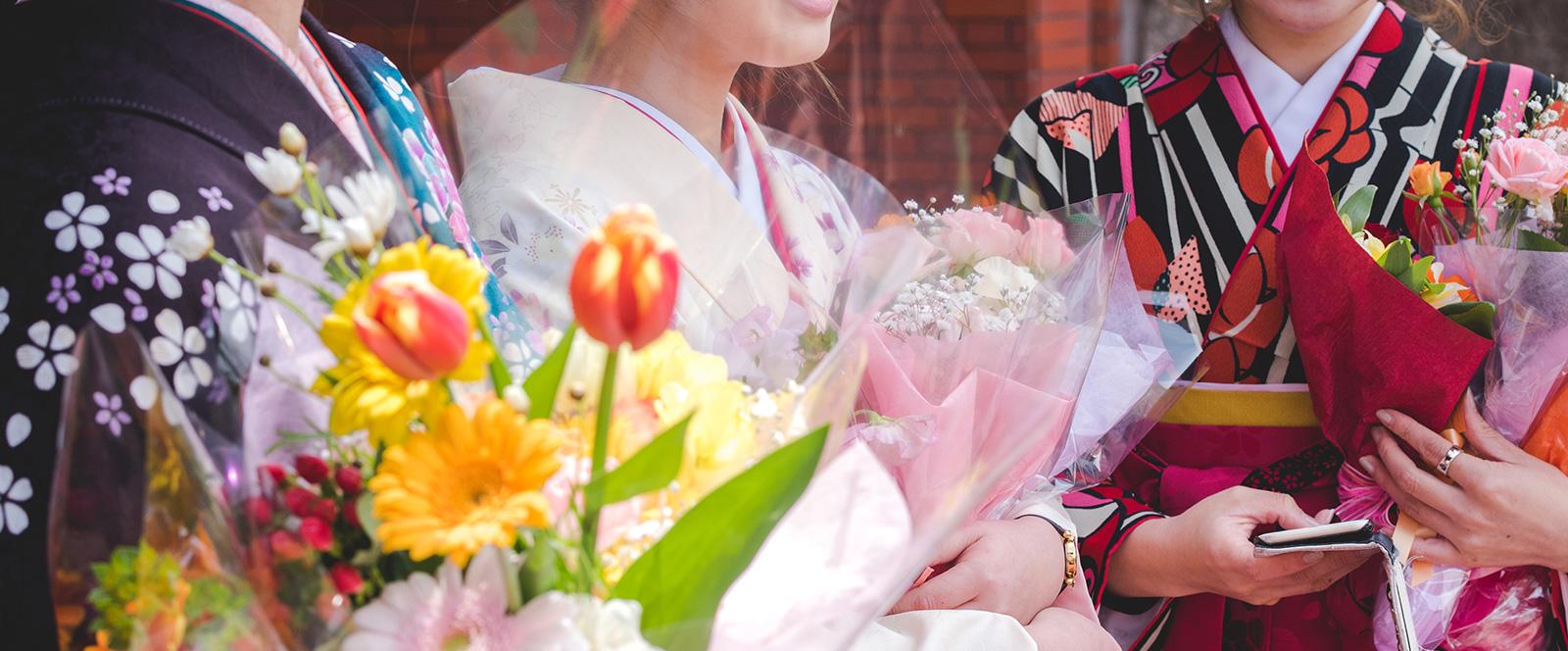 成人式・卒業式・結婚式 ヘアセット・着付け