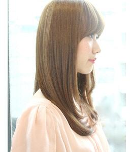 髪質改善×質感調整ストレート